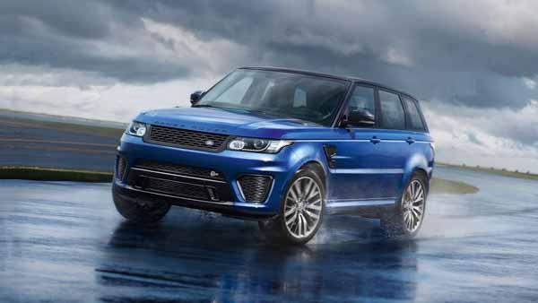 Range Rover Sport SVR tăng tốc lên 96 km/h với chỉ 4,5 giây,