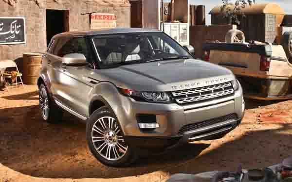 17 used land rover range rover evoque for sale in dubai. Black Bedroom Furniture Sets. Home Design Ideas