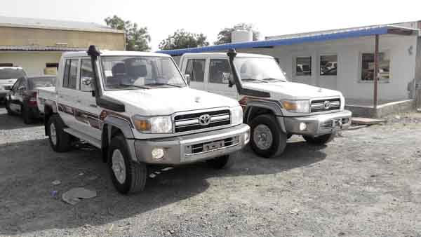 20 used toyota land cruiser pickup for sale in dubai uae. Black Bedroom Furniture Sets. Home Design Ideas